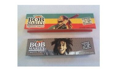 Bob Marley King Size Hemp Rolling Papers - 2 Packs