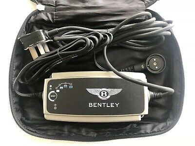 Genuine Bentley Battery Charger And Storage Bag