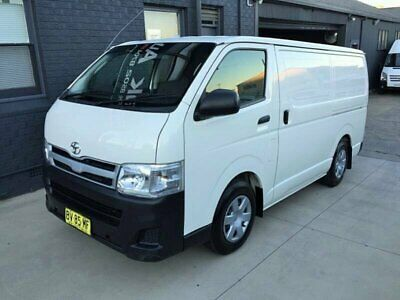 2013 Toyota HiAce KDH201R MY12 Upgrade LWB White Automatic 4sp A Van