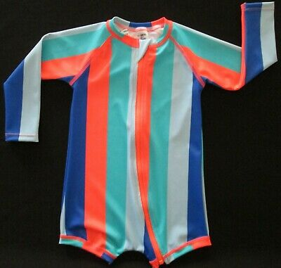 BONDS Toddler Baby Boys Bathers Swimmers Swim Suit Long Sleeve Protection 1 2