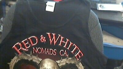 HELLS ANGELS NOMADS 81 De Mayo 2015 supporter tank top shirt Large