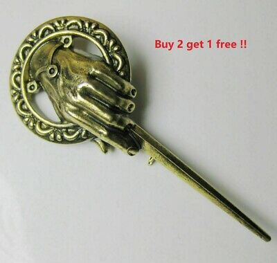 Wholesale Game of Thrones Hand of the King Lapel Replica Emblem Pin Brooch
