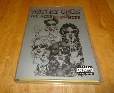 Motley Crue - Greatest Video Hits (DVD, 2003, Explicit Version) Metal Glam Rock