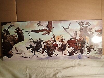 Dungeons & Dragons Deluxe Dungeon Master's Screen 4th Edition 4 panel