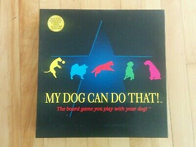 My Dog Can Do That game for all Dogs & Humans Board Game