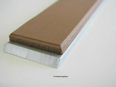"""1""""x6"""" Horse Butt Hide Veg Tan Leather Strop For Guided Sharpening Systems"""