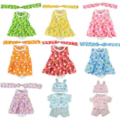 12 inch Baby Dolls Outfit Bears My Life Clothes Dress American Doll Accessories