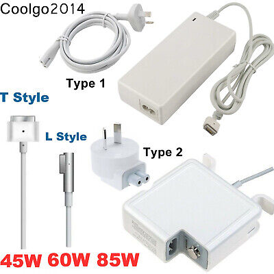 45W 60W 85W AC Power Adapter Charger 1/2 L/T For Apple Macbook Pro Air 11 13 15