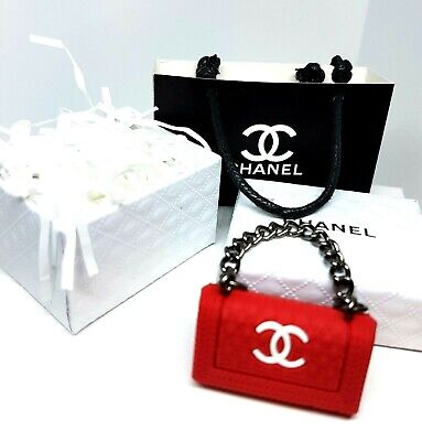 Coles Little Shop Mini Collectables - Mini Chanel Set with Red Handbag