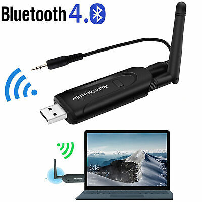 USB Bluetooth 4.1 Wireless A2DP Trasmettitore Stereo Audio Adapter Dongle TV