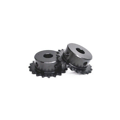 """04C Chain Simplex Sprocket Tooth 9T to 40T Pitch 1/4"""" for #25 Chain Transmission"""