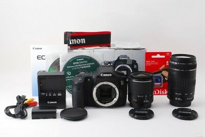 Canon EOS 60D 18.0MP 28-90/90-300mm Lens Set [Exc+++] w/Box,8GB SD Card [jkh]