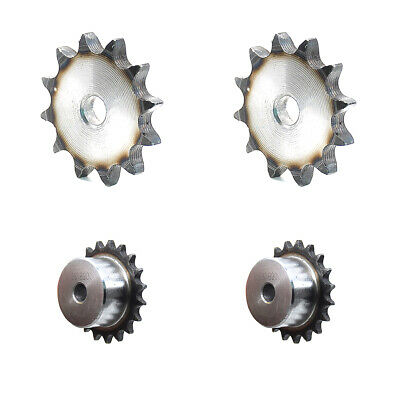 "08B Chain Simplex Sprocket Tooth 9T to 45T Pitch 1/2"" for #40 Chain Transmission"