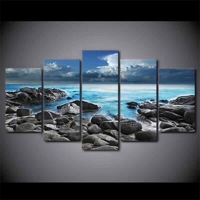 Art HD Print Home Décor Beach Scenery Modern Paintings Wall Poster Picture