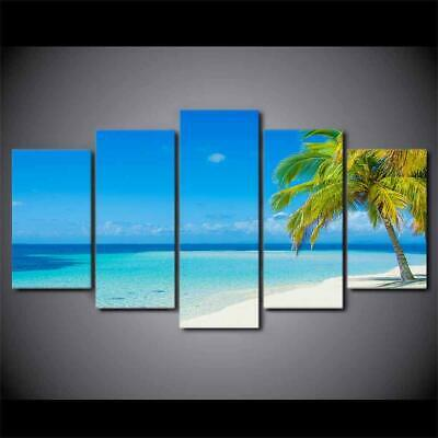 Art HD Print Home Décor Beach Tropical Island Modern Paintings Wall Poster