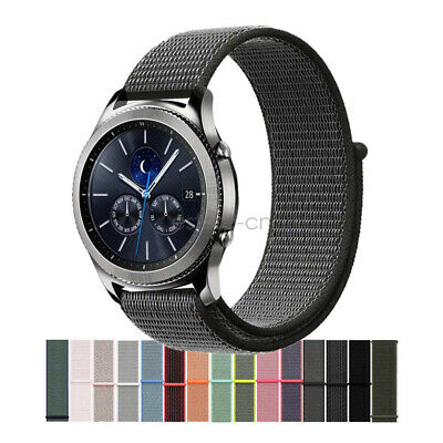 Woven Nylon Sport Loop Cinturino Watch Band per Samsung Gear S3 Classic Frontier