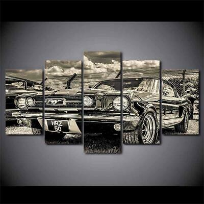 Art HD Print Home Décor Classic Car Modern Paintings Wall Poster Picture