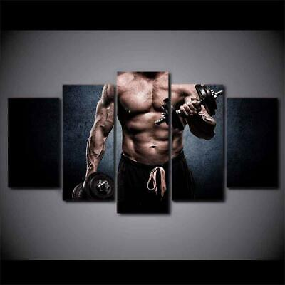 Art HD Print Home Décor Gym Stay Fit Modern Paintings Wall Poster Picture