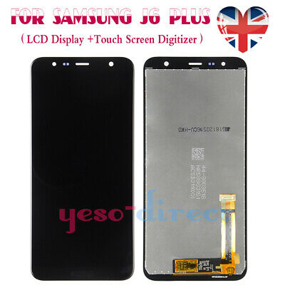 For Samsung Galaxy J6 Plus/Prime J610 Screen LCD Display Digitizer Replacement