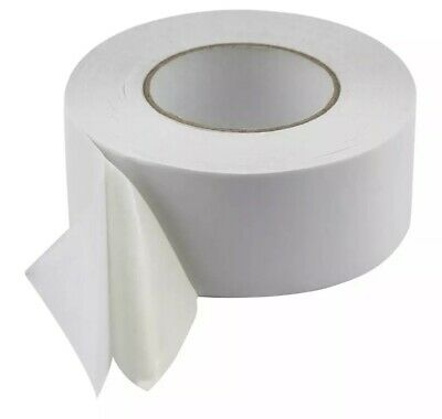 Carpet Tile Tape 50 Meters - Huge Roll Double Sided - 60mm Wide!!
