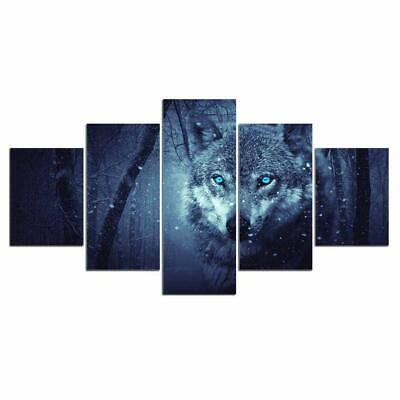 Art HD Print Home Décor Wild Wolf Animal Paintings Wall Poster Picture
