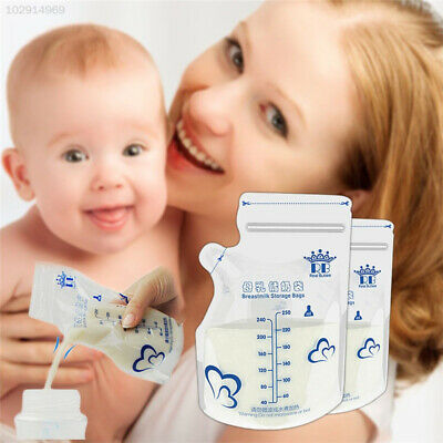 B723 30pcs Breast Milk Storage Home Supplies Baby Products