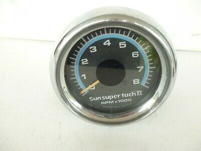 Vintage Sun Super Tach II NICE CONDITION RARE