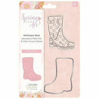 Nature's Garden Spring in the Air Collection - Stamp and Die - Wellington Boot