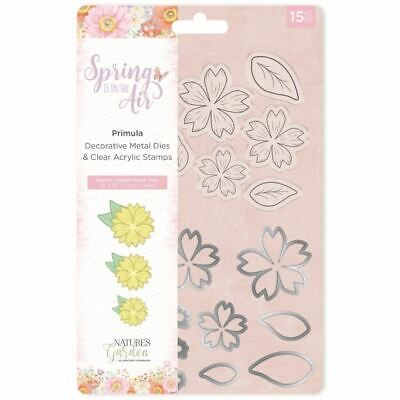 Nature's Garden Spring in the Air Collection - Stamp and Die - Primula