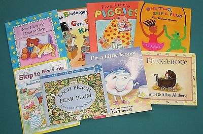 SPEECH THERAPY – ARTIC/LANG - 8 PreK – 1ST GRADE  RHYMES, SONGS, STORYBOOKS