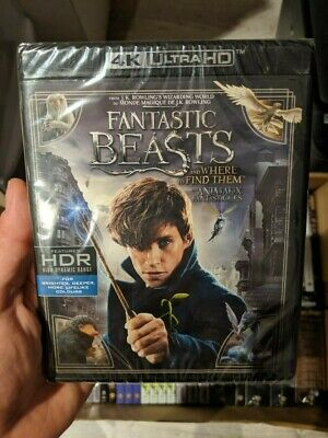 Fantastic Beasts The Crimes of Grindelwald (Blu-ray + 4K UHD) BRAND NEW!!