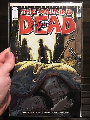The Walking Dead 11 NM+ First 1st Print Signed By Tony Moore 1 TWD