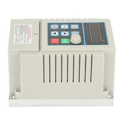 AC 220 Single Phase/3-Phase Variable Frequency Drive Inverter Motor VFD 0.45kW