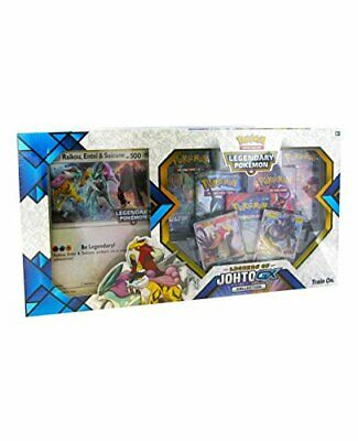 B-WARE: Sammelkarten Deck Pokemon Legends of Johto GX Sammelbox Zubehör