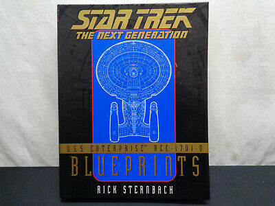 Star Trek The Next Generation Blueprints USS Enterprise NCC-1701-D (HKW2-502)