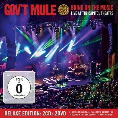 Gov't Mule - Bring On The Music - Live At The Capitol Theatre 2CD+2DVD NEU & OVP