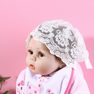 Newborn Infant Hat Baby Girl Sun Summer Cap Lace Photography Prop Photo Shooting