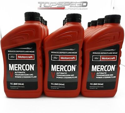 MOTORCRAFT® MERCON V Automatic Transmission Fluid and Power
