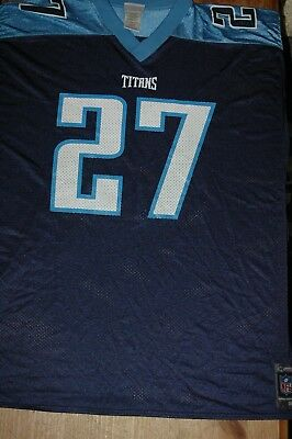 6c58a02fb32 AUTHENTIC Reebok NFL Tennessee Titans Eddie George #27 Jersey Mens Size 3xl