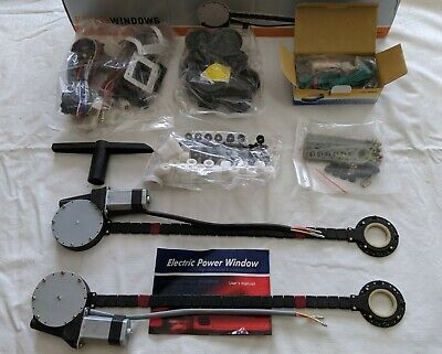 Brand New Vintage Fiat 500 and 600 Power Window Kit