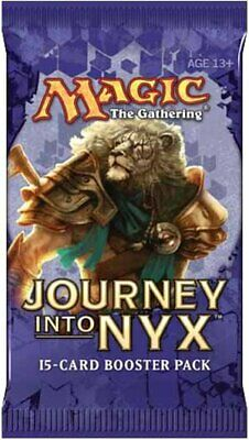 Verzegelde boosters Magic MTG Journey into Nyx Booster 1/3 Box English 12 Factory Sealed Packs gods