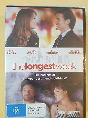 The Longest Week [ Region 4 DVD ] Brand New & Sealed, FREE Next Day Post fromNSW