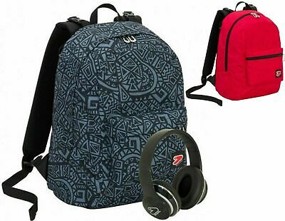 Zaino Scuola SEVEN Reversibile THE DOUBLE MAZE BOY BLUE WIRELESS 2020 + Omaggio