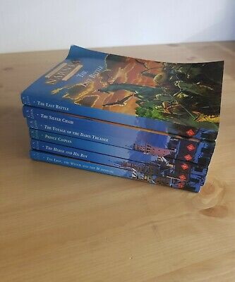 The Complete Chronicles of Narnia - C S Lewis - Box Set 2-7