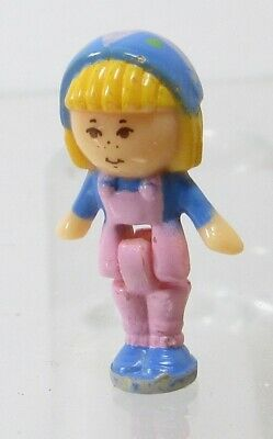1990 Vintage Polly Pocket Doll Flower Shop - Midge Bluebird Toys