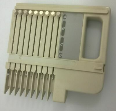 LK-100 RIGHT End Cap Needle Bed Knitting Machine w/9 Needles Repair Part ONLY