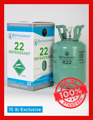 New Virgin R22 15 lb Exclusively From Refrigerant For Less LOWEST PRICE ON EBAY