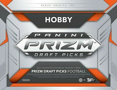 2019 Panini Prizm Draft Picks Football - Pick Your Card - Complete Your Set -