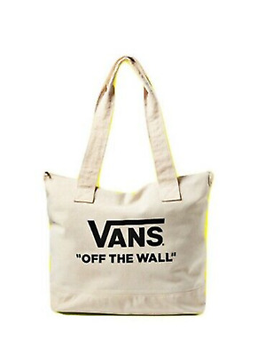 b24570658 Vans Family (Off The Wall) Canvas Tote Bag Sack Skate Factory Sealed New Nwt