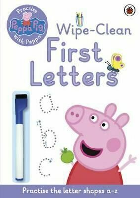 NEW Practise with Peppa: Wipe-Clean Writing By Ladybird Paperback Free Shipping